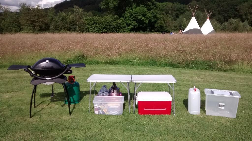Stag or Hen Campsite DIY BBQs