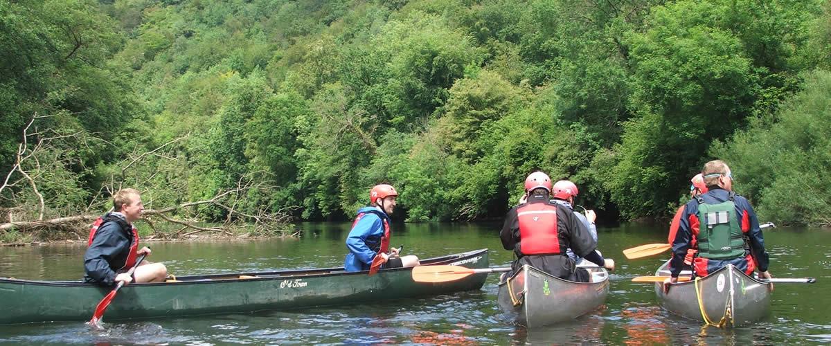 River Wye Canoe & Kayak Hire - River Trips Monmouth Canoe Hire