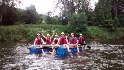 Rafting River Wye Outdoor Activities