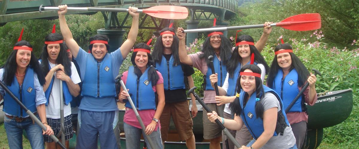 Stag & Hen Canoe Trips & Adventure Activities