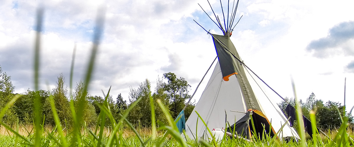 Wye Valley Stag or Hen Groups Tipi Camping