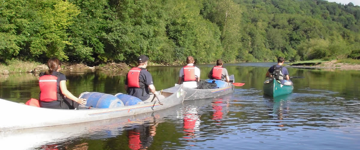 Tour The River Wye - 2 day trip Guided River Trip