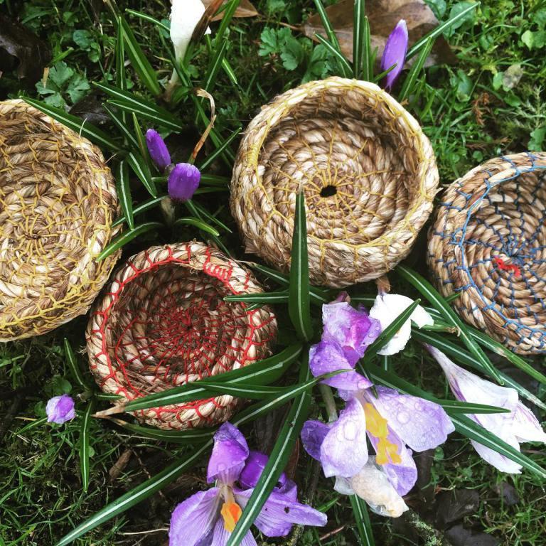 Basketry Weaving